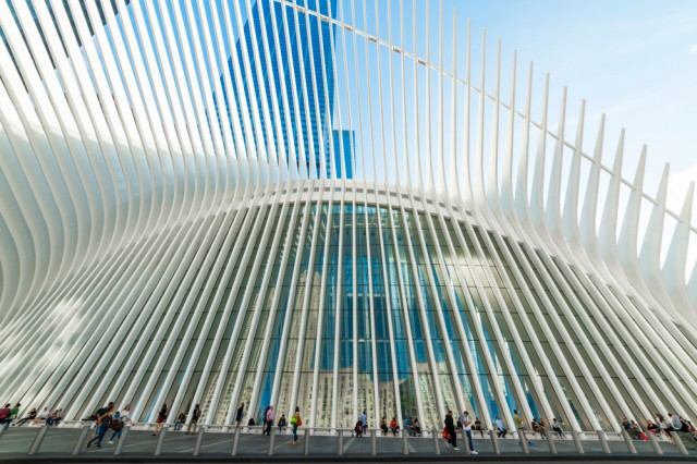 New,York,,Usa,-,September,26,,2018:,The,Oculus.,The