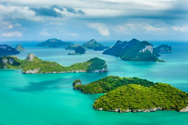 Tropical,Group,Of,Islands,In,Ang,Thong,National,Marine,Park,