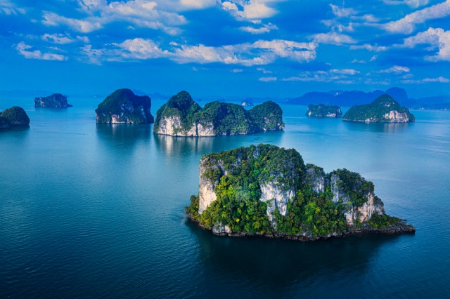 View,From,Above,,Aerial,View,Of,The,Beautiful,Phang,Nga