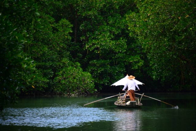 """Traditional,Thai,Boat,Called,""""ruea,Mat"""",Or,Also,Known,As"""
