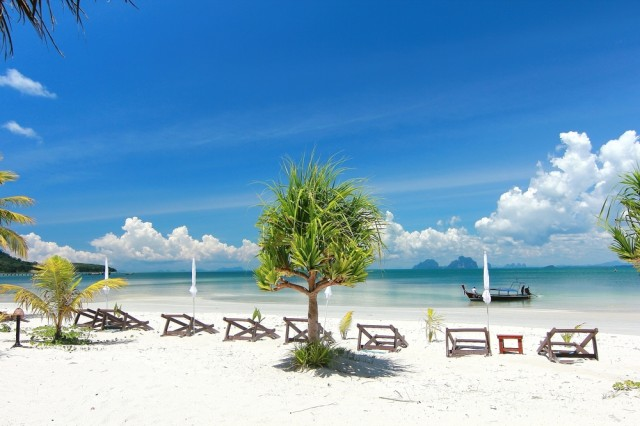 The,Paradise,Island,In,Koh,Mook,,trang,Province,,,Thailand