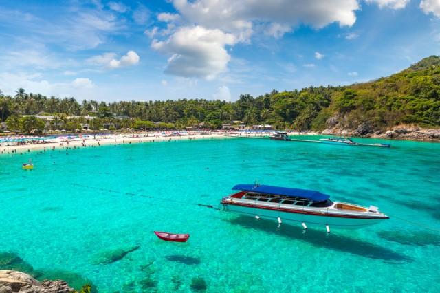 Racha,(raya),Resort,Island,Near,Phuket,Island,,Thailand,In,A